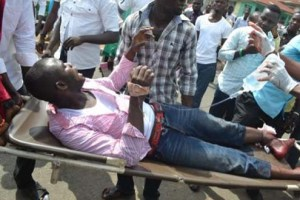 Ahmed Dayo: Shot by police in Ilorin.