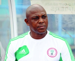 •Eagles' coach, Keshi