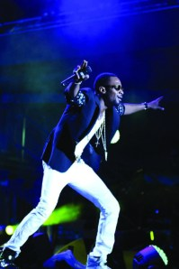 •D'banj at the MTV Africa All Stars concert
