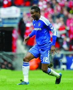 •John Mikel Obi At Chelsea