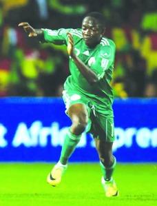 •Nigeria's Ahmed Musa