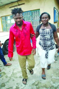 •OJB with his wife