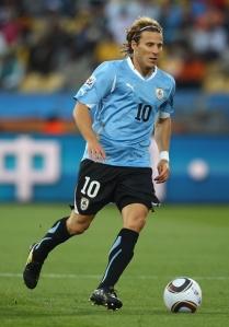 •Uruguay's Diego Forlar