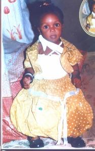 Little Alimat when she was alive