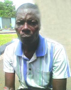 •The suspect, Nanagha Aduoumeni