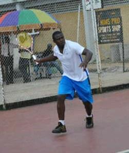 •Nwokedi in action
