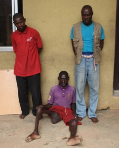 •The cripple, Sunday Erim Udoyo and two other beggars jailed in Lagos