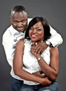Funke and her ex-husband Al-Maroof Oloyede