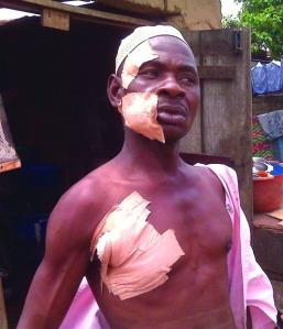 Umoru Musa Stabbed by Kunle Oyebanji