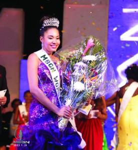 Winner MBGN 2013, Miss Bayelsa, Anna Ebiere Banner