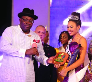 Gov. Seriake-Dickson of Bayelsa State and MBGN 2013, Anna