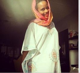 Maheeda in her new look