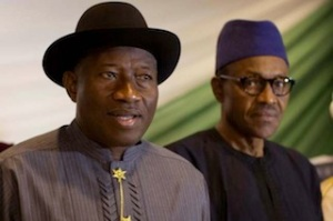 President Jonathan and Buahri