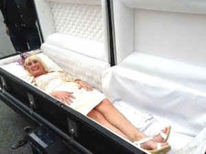 coffin-bride