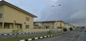 Residential Apartments of the Ibom Int'l. Specialist Hospital, Commissioned by the Akwa Ibom State Governor, Mr Udom Emmanuel, at Shelter Afrique Estate, Uyo.