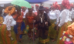 Mbopo Cultural Group performing