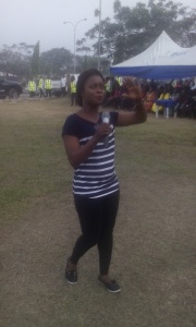 Elizabeth Udofia Udo reciting the Dakkada creed