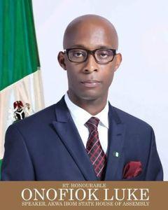 Hon. Aniefiok Luke, Speaker, Akwa Ibom House of Assembly