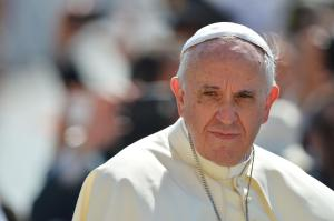 Pope Francis, loses receptionist