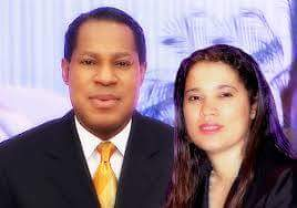 Pastor Chris and wife, Anita Oyakhilome before the dissolution