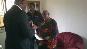 Gov Udom Emmanuel paying
