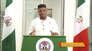 Mr Udom Emmanuel, the Executive Governor of Akwa Ibom State