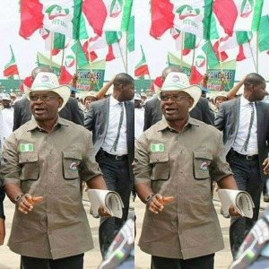 The Honourary Special Adviser to Governor Udom Emmanuel on Labour Matters, Comrade Unyime Usoro
