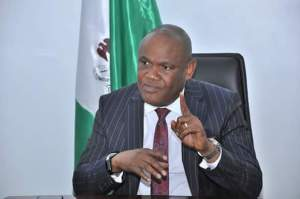 Commissioner for Works, Akparawa Ephraim Inyang-Eyen