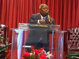 Pastor Williams Kumuyi of the Deeper Life Christian Ministry