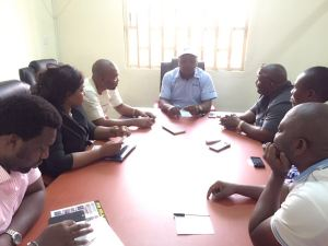 Gov Udom Emmanuel's Media Aides in a chat with Inspiration 105.9 FM MD