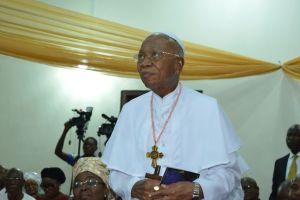 Prelate Emeritus, His Eminence, Dr Sunday Mbang