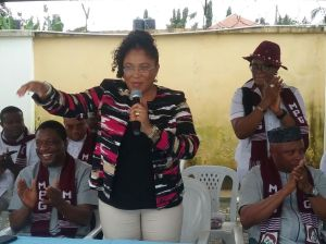 Mrs Aidy Thomas, BoT Chairman, Sisters of Udom Emmanuel