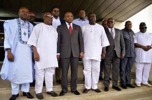 G22 members with Gov Udom Emmanuel