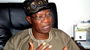 Minister of Information and Culture, Mr Lai Mohammed