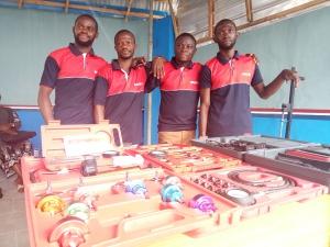 AutoMedics trainees