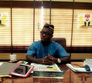 Hon. Usoro Akpanusoh, Member representing Esit Eket/Ibeno State Constituency