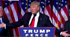 Donald Trump, President-elect of America