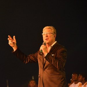 Don Moen on stage
